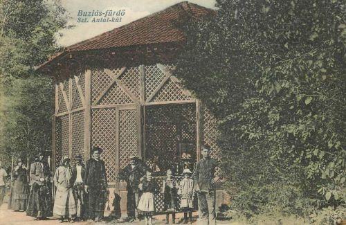 Buziásfürdő:Szent Antal kút.1914