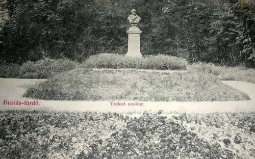 Buziásfürdő:Trefort szobor.1908