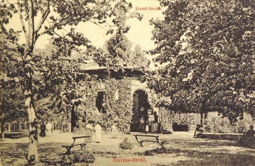 Buziás:József forrás.1909