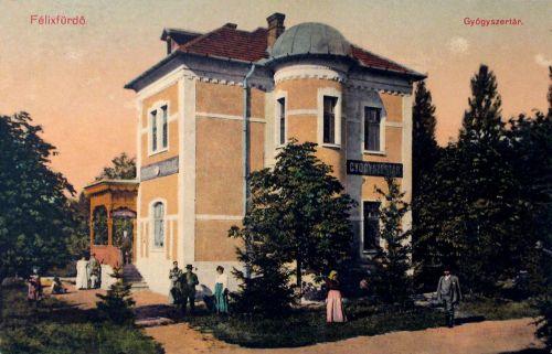 Felixfürdő:Gyógyszertár.1914