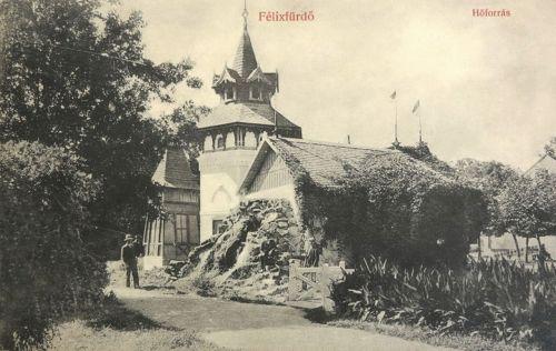 Félixfürdő:Hőforrás.1909