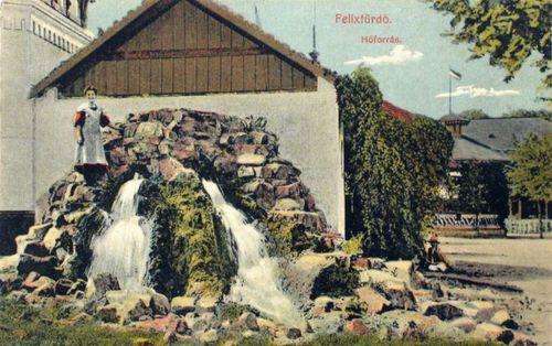 Félixfürdő:hőforrás.1910