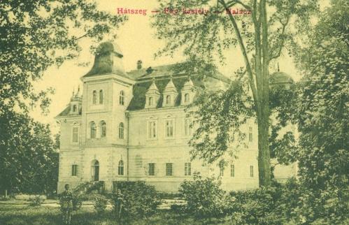 Hátszeg:Fáy kastély,1908.