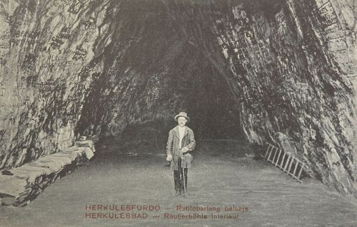 Herkulesfürdő:Rablóbarlang belseje.1911