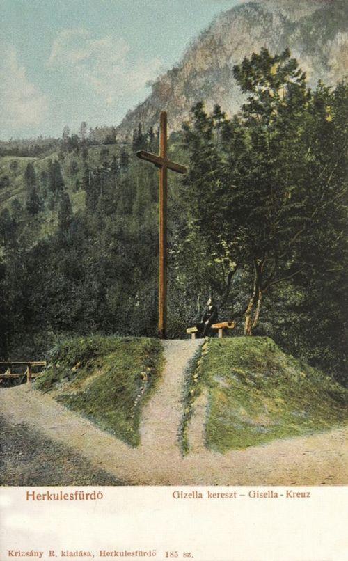 Herkulesfürdő:Gizella kereszt.1903