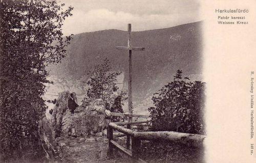 Herkulesfürdő:Fehér kereszt.1903