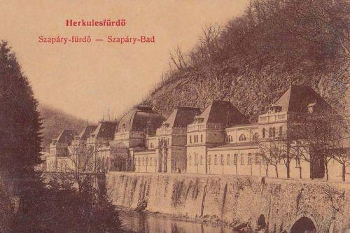 Herkulesfürdő:Szapáry fürdő.1913