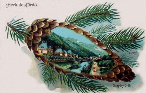 Herkulesfürdő:Szapáry fürdő.1900