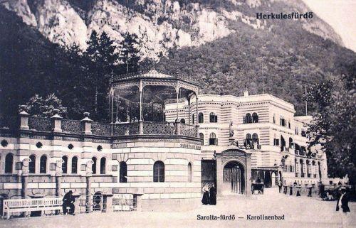 Herkulesfürdő:Sarolta fürdő.1914
