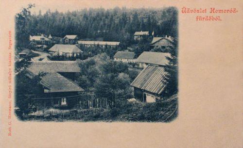 Homorodfürdő-Baia Homorod:látkép.1899