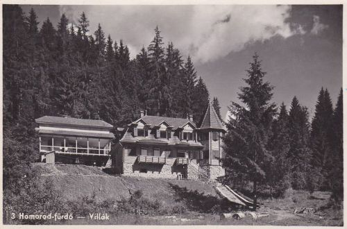 Homorod-fürdő:villák.1943