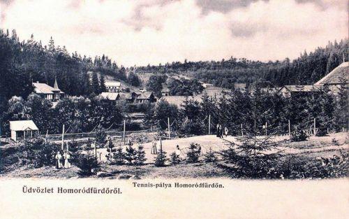 Homorodfürdő:teniszpálya.1903