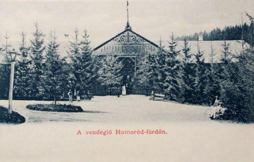 Homorod-Fürdő:vendéglő.1900