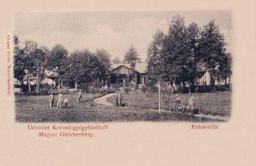 Korond Gyógyfürdő:Firtos villa.1899