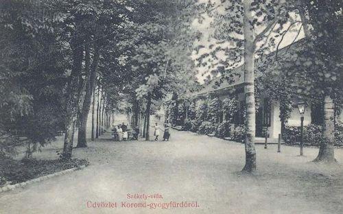 Korond-gyógyfürdő:Székely villa.1908