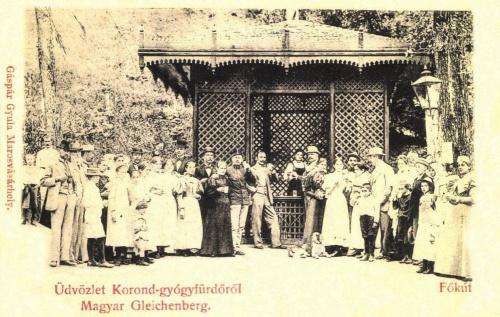 Korond:a magyar Gleichenberg,Főkút,1900.