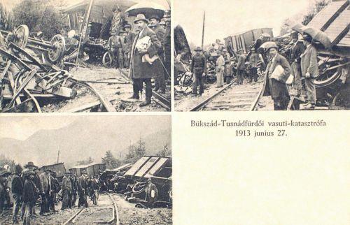 Tusnád és Sepsibükszád közötti vasúti katasztrófa.1913