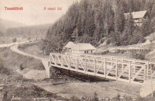 Tusnád:vasúti hid.1909