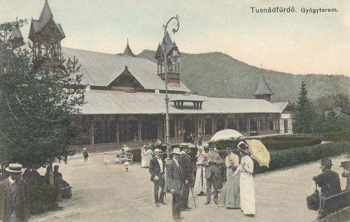 Tusnádfürdő:Gyógyterem.1911