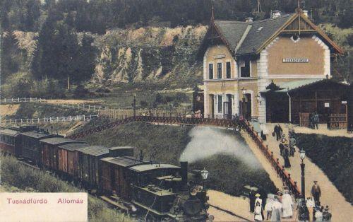 Tusnádfürdő:vasútállomás.1903
