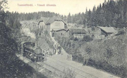 Tusnádfürdő:vasútállomás.1909