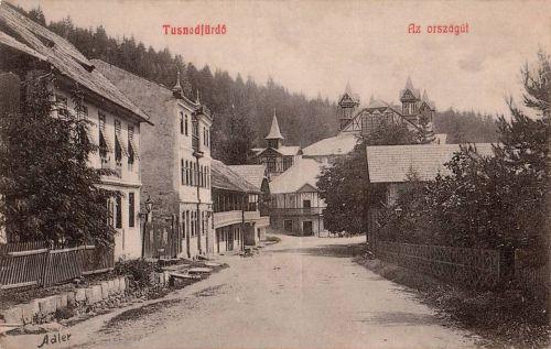 Tusnádfürdő:országút.1908