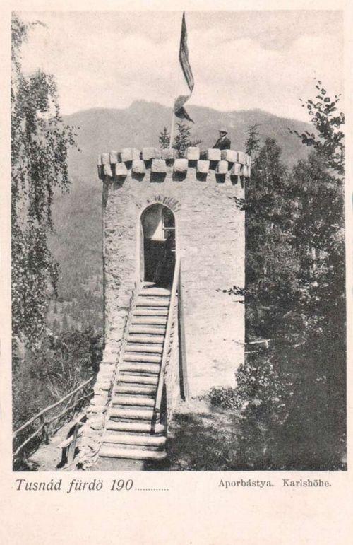 Tusnád:Apor bástya.1901