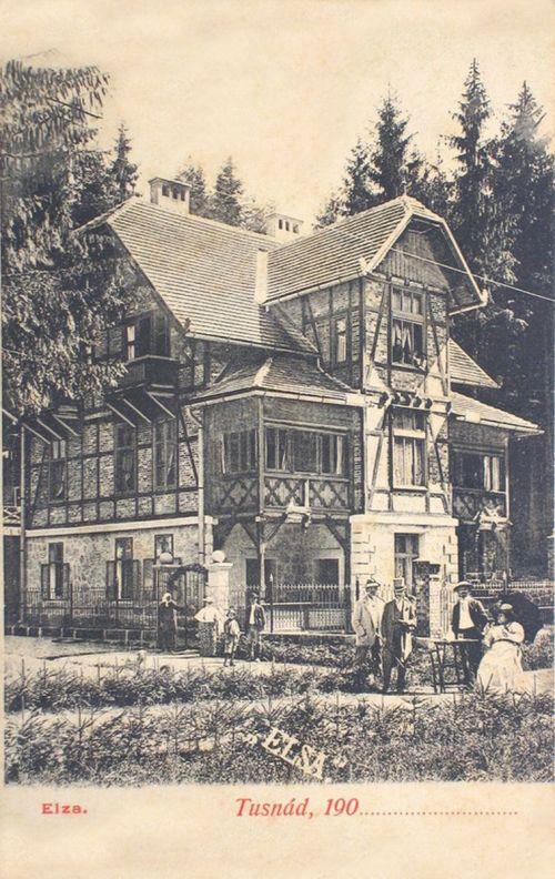 Tusnád:Elza villa.1900
