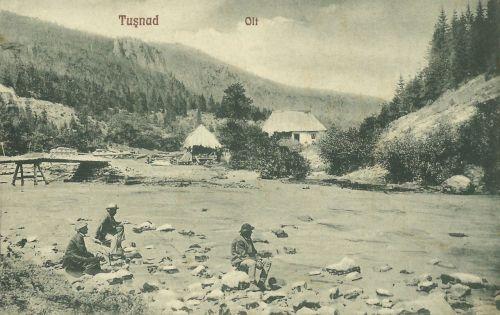 Tusnád:Olt folyó.1928