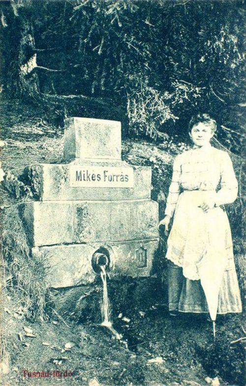 Tusnád:Mikes forrás.1908