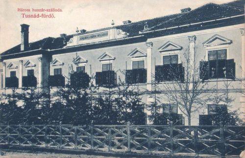 Tusnádfürdő:Szálloda a Három Huszárhoz.1908
