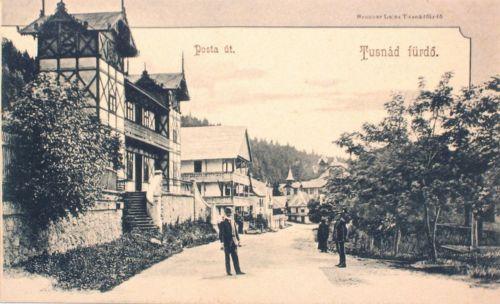 Tusnád-fürdő:Posta út.1904