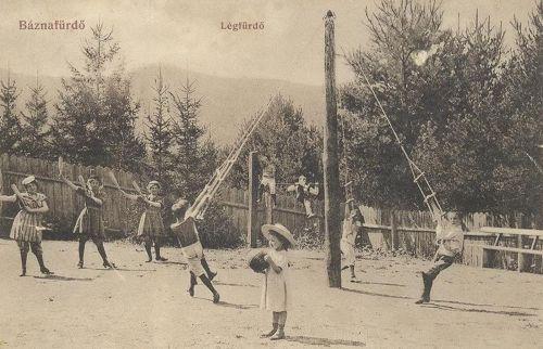 Báznafürdő:légfürdő.1908