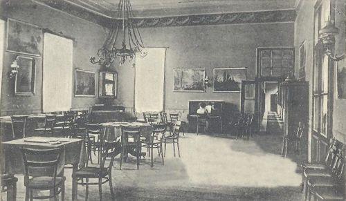 Bázna:zongora és bálterem.1907