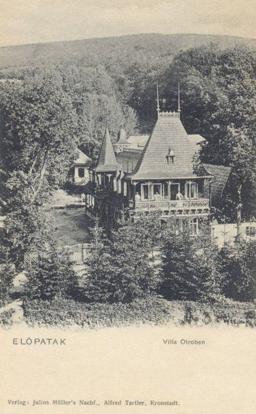 Előpatak:Otrobán villa.1903