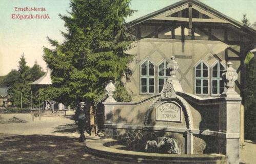 Előpatak:Erzsébet forrás.1908