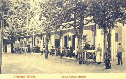 Előpatak:Kásás György étterme.1907