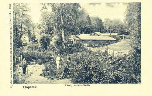 Előpatak:Károly uszoda és fürdő.1905