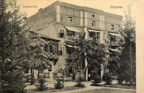 Előpatak:Bogdán villa.1907
