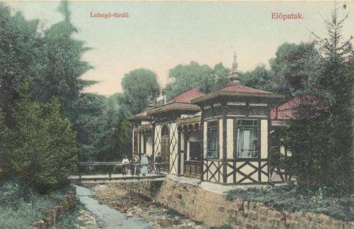 Előpatak:Lobogó fürdő.1909