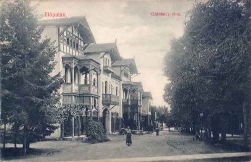 Előpatak:Gidófalvi villa.1908