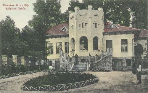 Előpatakfürdő:Damokos Ákos villája.1909