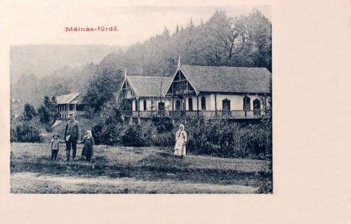 Málnás fürdő:villák.1903