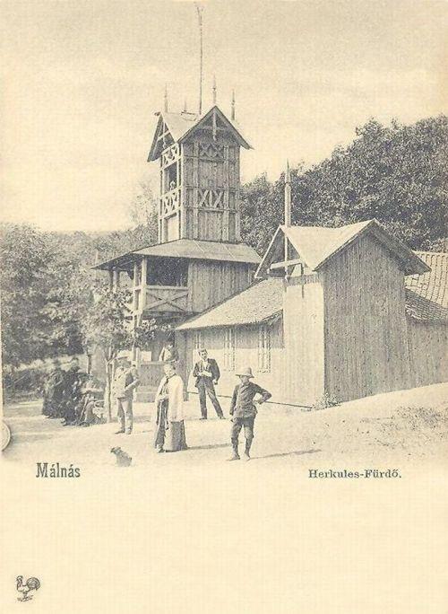 Málnás:Herkules fürdő.1901