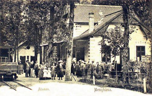 Menyháza:vasútállomás.1904
