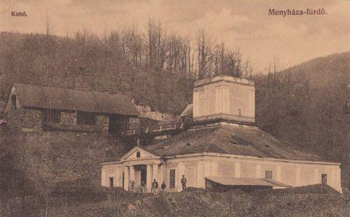 Menyháza fürdő:Kohó.1912