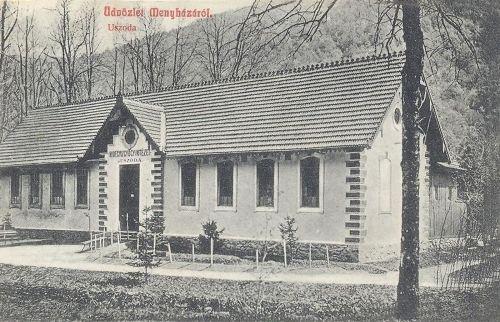 Menyháza:uszoda,Hidegviz Gyógyintézet.1908