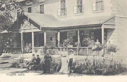 Menyháza:Központi szálló.1903