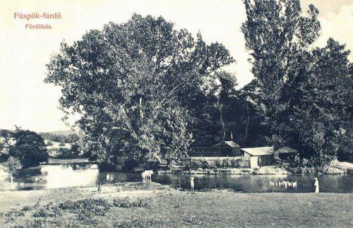 Püspökfürdő:Fürdőház.1909