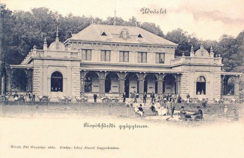 Püspökfürdő:Gyógyterem (Cursalon).1900